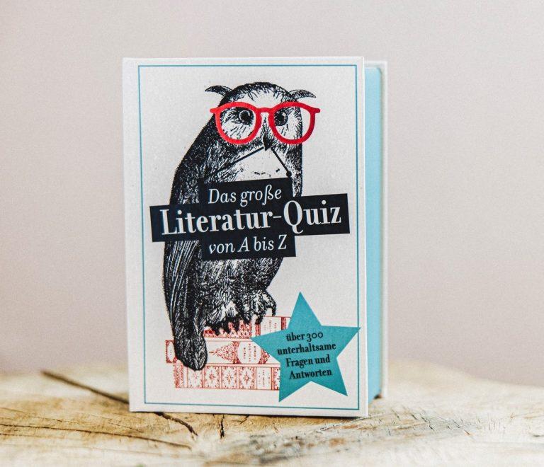 Das große Literatur-Quiz von A bis Z